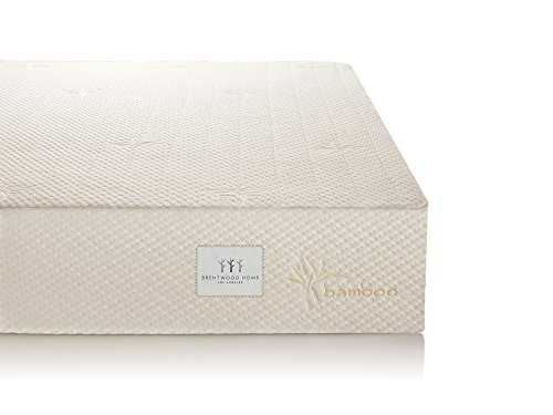 Brentwood 7″ Gel Infused HD Memory Foam Mattress
